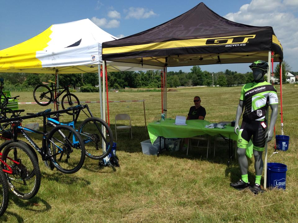 Kristine Contento-Angell - Demo from the cannondale tent