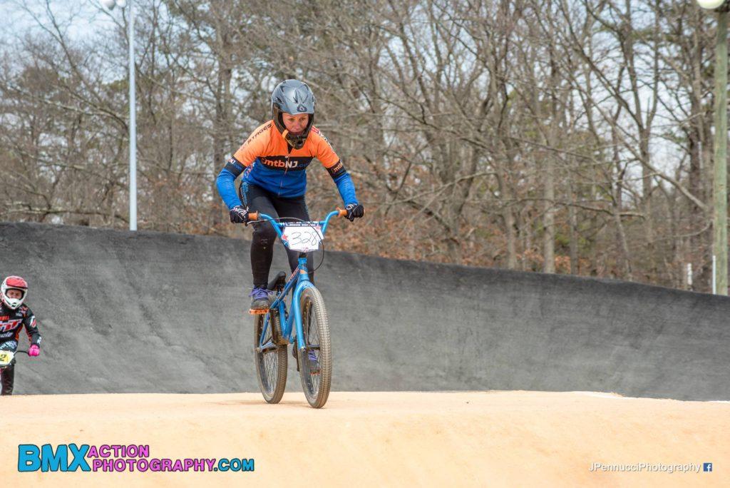 Kristine Contento-Angell BMX race